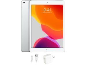 "Apple iPad (7th Generation) MW782LL/A Apple A10 Fusion 128 GB Flash Storage 10.2"" 2160 x 1620 Tablet PC (Wi-Fi Only) Silver"