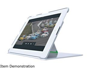 Leitz High-Gloss White Cover with Stand for iPad 2/3/4 632201