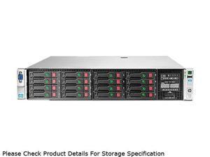 HP ProLiant DL380p Gen8 Rack Server System 2 x Intel Xeon E5-2670 2.6GHz 8C/16T 32GB (4 x 8GB) DDR3 No Hard Drive 670852-S01