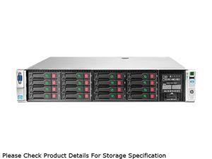 HP ProLiant DL380p Gen8 Rack Server System Intel Xeon E5-2609 2.4GHz 4C/4T 4GB (1 x 4GB) DDR3 No Hard Drive 642121-001