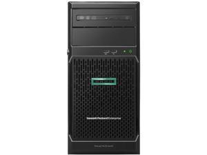 HPE ProLiant ML30 Gen10 E-2224 1P 16GB-U S100i 8SFF 1x500W RPS Server