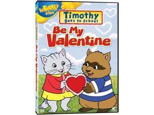 E1 ENTERTAINMENT TIMOTHY GOES TO SCHOOL-BE MY VALENTINE (DVD)-NLA! DP4F51260D