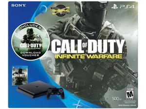PlayStation 4 Slim 500GB Console - Call of Duty Infinite Warfare Bundle