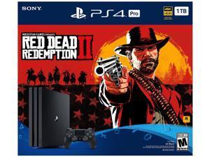 PlayStation 4 PRO 1TB Bundle - Red Dead Redemption 2