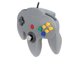 Cirka N64 Controller with long handle (Gray)