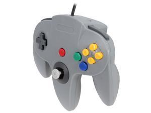 Cirka N64 Controller with long handle (Gray)