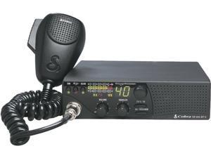 Cobra 18WXSTIIC SoundTracker & NOAA Weather CB Radio