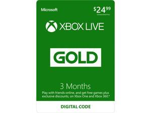 $34.99 Xbox LIVE 3 Month Gold Membership