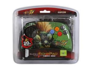 Mad Catz Official Street Fighter IV FightPad for Xbox 360 - Blanka