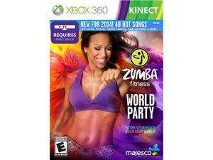 Zumba Fitness: World Party Kinect Xbox 360 MAJESCO