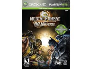 Mortal Kombat Vs. DC Universe Xbox 360 Game