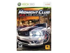 Midnight Club: Los Angeles Xbox 360 Game