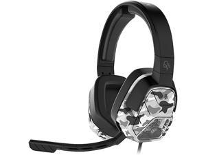 PDP Afterglow LVL 5 Plus Stereo Headset for Xbox One, White Camo, 048-042-NA-WH-CAMO