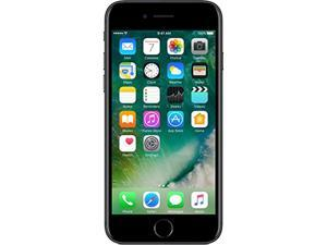 "Apple iPhone 7 4G LTE Unlocked Cell Phone 4.7"" Black 32GB 2GB RAM"