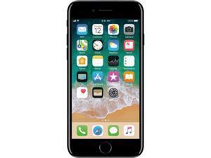 "Apple iPhone 7 4G LTE Unlocked GSM Quad-Core Phone w/ 12 MP Camera 4.7"" Jet Black 128GB 2GB RAM"