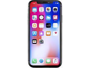 "Apple iPhone X 4G LTE Unlocked Cell Phone 5.8"" Space Gray 64GB 3GB RAM"