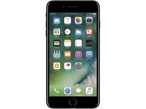 "Apple iPhone 7 Plus 4G LTE Unlocked GSM Quad-Core Smartphone w/ Dual 12 MP Camera 5.5"" Jet Black 128GB 3GB RAM"