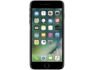 "Apple iPhone 7 Plus 4G LTE Unlocked GSM Quad-Core Smartphone w/ Dual 12 MP Camera 5.5"" Jet Black 256GB 3GB RAM"