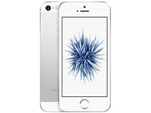 "Apple iPhone SE 4G LTE Unlocked GSM Phone 4.0"" Silver 16GB 2GB RAM"