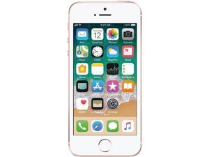 Apple iPhone SE 32GB Unlocked GSM 4G LTE Phone w/ 12 MP Camera - Rose Gold (Grade B Refurbished)