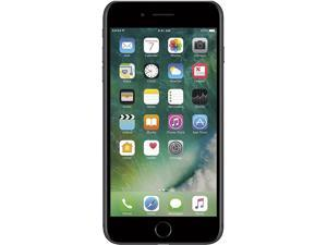 "Apple iPhone 7 Plus 4G LTE Unlocked Cell Phone 5.5"" Black 256GB 3GB RAM"