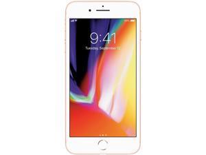 "Apple iPhone 8 Plus 4G LTE Unlocked GSM Phone w/ Dual 12 MP Camera 5.5"" Gold 64GB 3GB RAM"