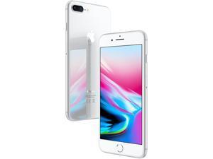 "Apple iPhone 8 Plus 4G LTE Unlocked GSM Phone w/ Dual 12 MP Camera 5.5"" Silver 64GB 3GB RAM"