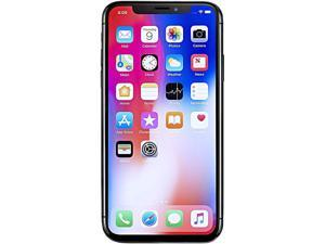 "Apple Apple iPhone X iPhone X 4G LTE Unlocked GSM Phone w/ Dual 12 MP Camera - (Used) 5.8"" Space Gray 64GB 3GB RAM"