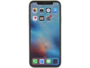 "Apple iPhone X 4G LTE Unlocked GSM Phone w/ Dual 12 MP Camera - (Used) 5.8"" Space Gray 256GB 3GB RAM"