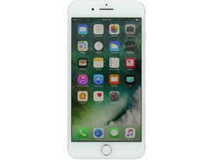 "Apple iPhone 7 Plus 4G LTE Unlocked GSM Quad-Core Smartphone w/ Dual 12 MP Camera - (Used) 5.5"" Silver 256GB 3GB RAM"