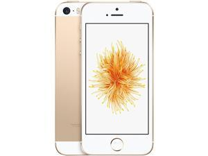 "Apple iPhone SE 4G LTE Unlocked GSM Phone w/ 12 MP Camera 4.0"" Gold 128GB 2GB RAM"