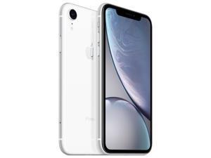 "Apple iPhone XR 4G LTE Unlocked GSM Phone w/ 12 MP Camera 6.1"" White 64GB 3GB RAM"