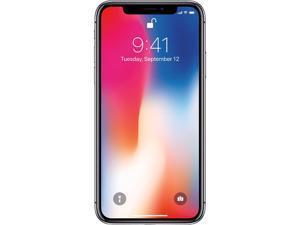 Apple iPhone X 256GB Unlocked GSM Phone w/ Dual 12 MP Camera - Space Gray (Certified Refurbished)