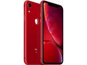 "Apple iPhone XR 4G LTE Fully Unlocked (Verizon + Sprint + GSM Unlocked) 6.1"" Red 64GB 3GB RAM"