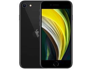 "Apple iPhone SE A2296 4G LTE Cell Phone 4.7"" Black 128GB 3GB RAM"