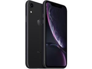 "Apple iPhone XR 4G LTE Fully Unlocked (Verizon + Sprint + GSM Unlocked) 6.1"" Black 128GB 3GB RAM"