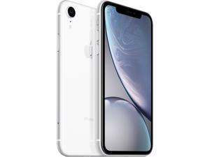 "Apple iPhone XR 4G LTE Fully Unlocked (Verizon + Sprint + GSM Unlocked) 6.1"" White 64GB 3GB RAM"