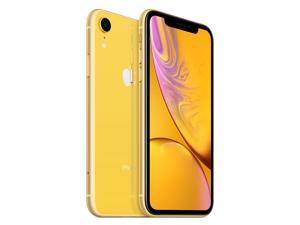 "Apple iPhone XR 4G LTE Unlocked GSM Phone w/ 12 MP Camera 6.1"" Yellow 64GB 3GB RAM"
