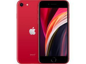 "Apple iPhone SE (2020) 4G LTE GSM/CDMA Fully Unlocked Phone 4.7"" Red 128GB 3GB RAM"