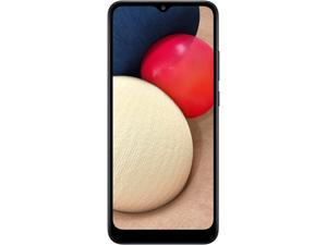 "Samsung Galaxy A02s 4G LTE Unlocked Cell Phone 6.5"" Black 32GB 2GB RAM"