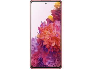 "Samsung Galaxy S20 FE 4G Unlocked Cell Phone 6.5"" Cloud Red 128GB 6GB RAM"