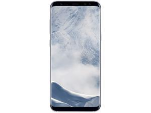"Samsung Galaxy S8+ G955U 4G LTE Unlocked GSM U.S. Version Phone - w/ 12 MP Camera 6.2"" Arctic Silver 64GB 4GB RAM"
