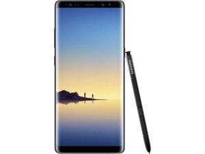 "Samsung Galaxy Note 8 4G LTE Unlocked GSM Android Phone w/ Dual 12 Megapixel Camera - (Used) 6.3"" Midnight Black 64GB 6GB RAM"