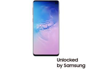 "Samsung Galaxy S10 4G LTE Unlocked Cell Phone 6.1"" Infinity Display Prism Blue 128GB 8GB RAM"