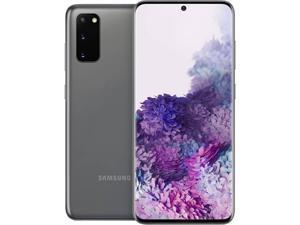 "Samsung Galaxy S20 5G SM-G981UZAAXAA 5G Unlocked Cell Phone 6.2"" Cosmic Gray 128GB 12GB RAM"