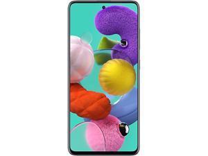 "Samsung Galaxy A51 SM-A515WZKAXAC 4G LTE Unlocked Cell Phone 6.5"" Prism Crush Black 64GB 4GB RAM"