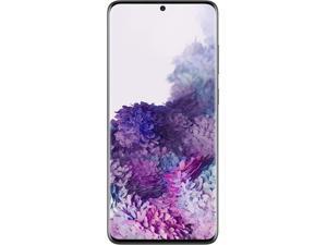 "Samsung Galaxy S20+ 5G SM-G986WZKAXAC 5G Unlocked Cell Phone 6.7"" Cosmic Black 128GB 12GB RAM"
