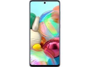 """Samsung Galaxy A71 SM-A715WZKAXAC 4G LTE Unlocked Cell Phone 6.7"""" Black 128GB 6GB RAM"""