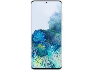 "Samsung Galaxy S20+ 5G SM-G986WLBAXAC 5G Unlocked Cell Phone 6.7"" Light Blue 128GB 12GB RAM"