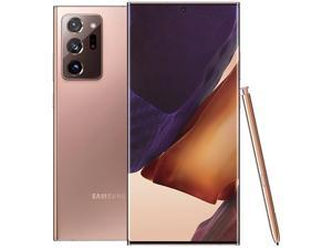 "Samsung Galaxy Note20 Ultra 5G SM-N986UZNFXAA 5G Unlocked Cell Phone 6.9"" Mystic Bronze 512GB 12GB RAM"